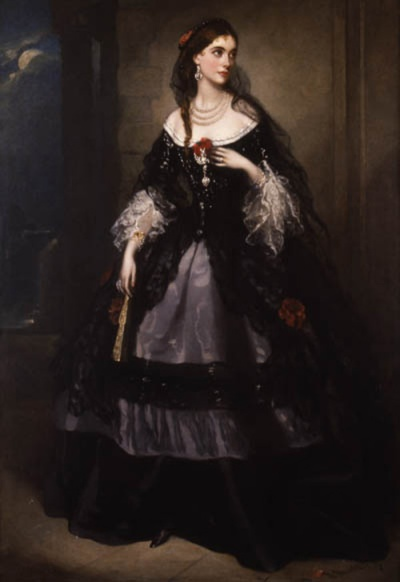 The Countess of Cardigan, formerly Adeline Horsey de Horsey.